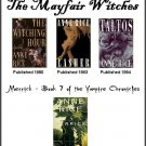 The Mayfair Chronicles and Merrick  - Merrick is Autographed by Anne Rice
