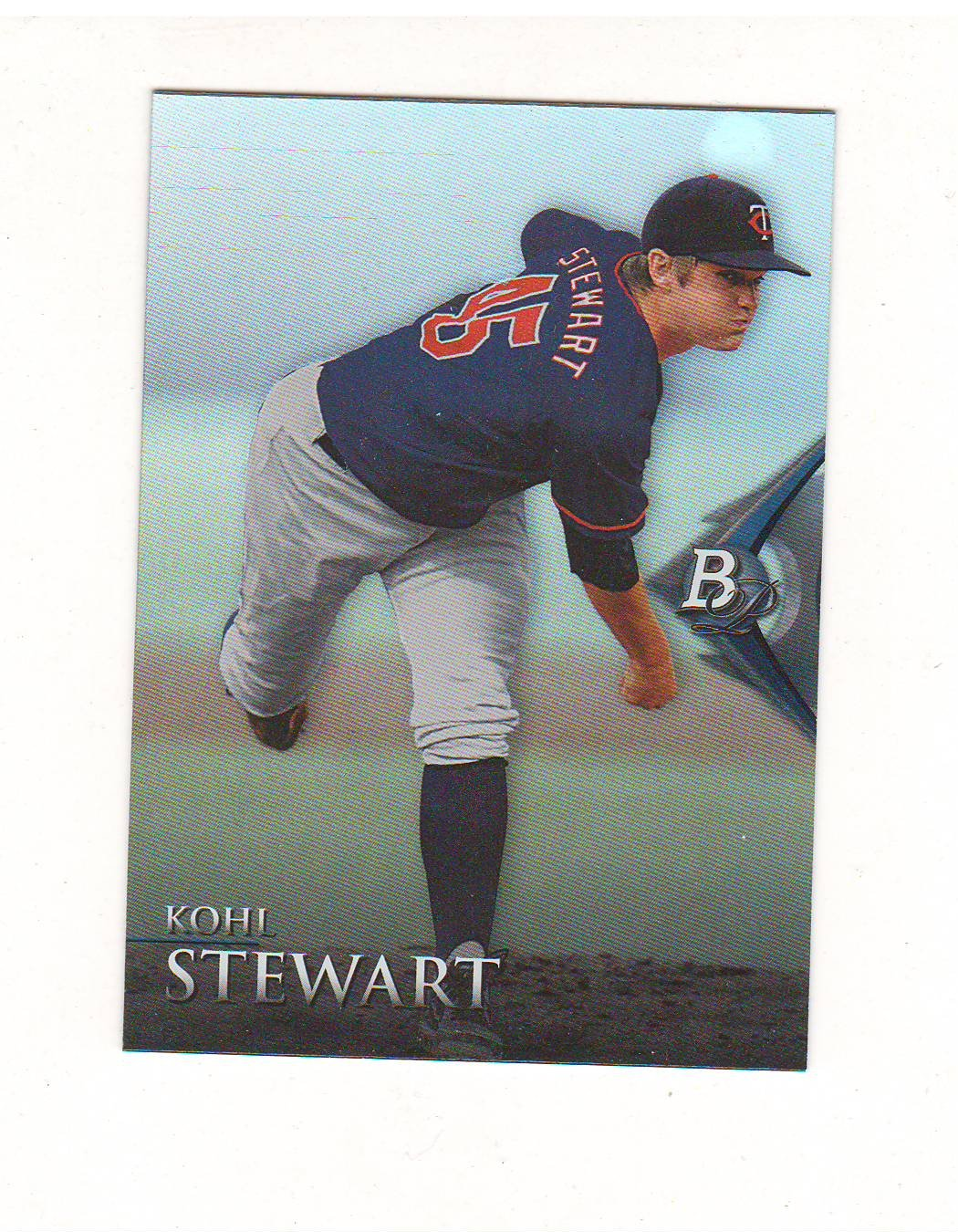 2014 Bowman Platinum Prospect Kohl Stewart #BPP34 Minnesota Twins