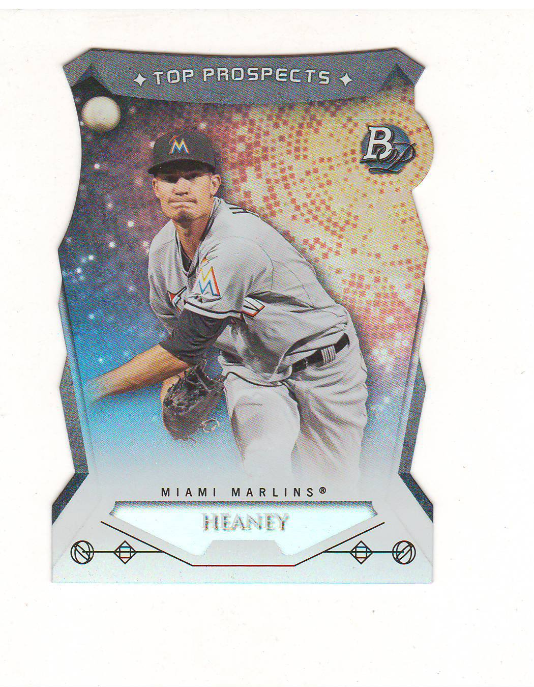 2014 Bowman Platinum Top Prospects Andrew Heaney #TP-AHE Miami Marlins