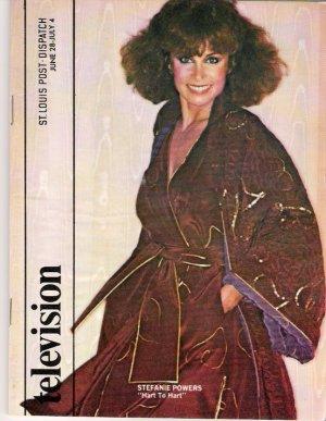 Stefanie Powers Hart to Hart St. Louis Post-Dispatch TV Magazine June 28, 1981