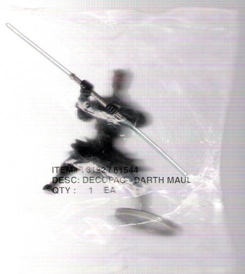 Darth Maul Star Wars Phantom Menace 1999 Decopac Cake Figurine Mint in Bag