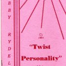 Bobby Rydell Twist Personality Booklet 1962