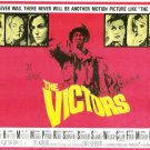 The Victors 1963 Movie Lobby Card Set of Eight