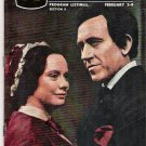 Jason Robards Kate Reid Abe Lincoln in Illinois St. Louis TV Magazine February 2, 1964