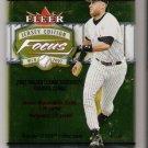 2002 Fleer Focus Jersey Edition Baseball Pack