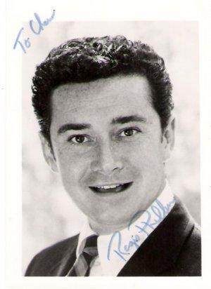 Three Regis Philbin Autographs KHU Hollywood 1973 Signed Photo, Index Card & TV Ad in Envelope