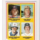 1978 Topps Jack Morris Rookie Baseball Card Near Mint