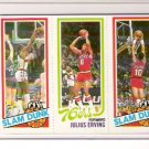 1980-81 Topps Julius Erving/Elvin Hayes Basketball Card