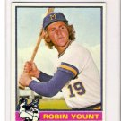 1976 Topps Robin Yount Baseball Card Near Mint