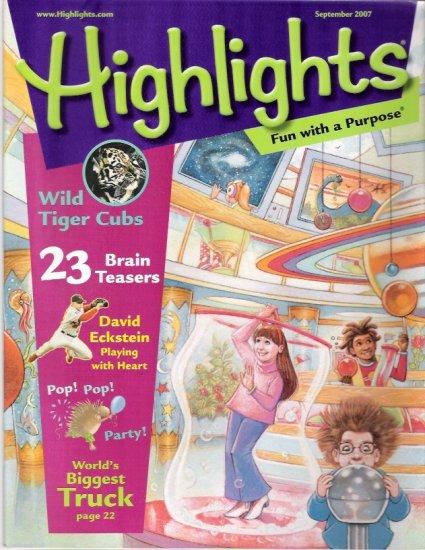 St. Louis Cardinal David Eckstein Highlights Magazine Cover September 2007