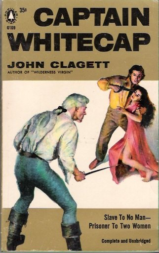 Captain Whitecap 1956 by John Clagett Popular Library Giant G189 Vintage Paperback