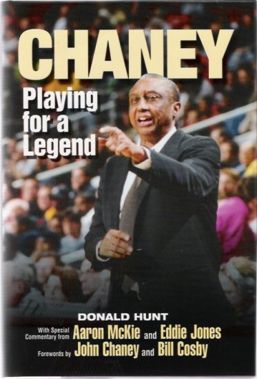 John Chaney Playing for a Legend College Basketball Hardcover Book