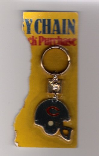 1988 Chicago Bears Key Chain from Camel Cigarettes