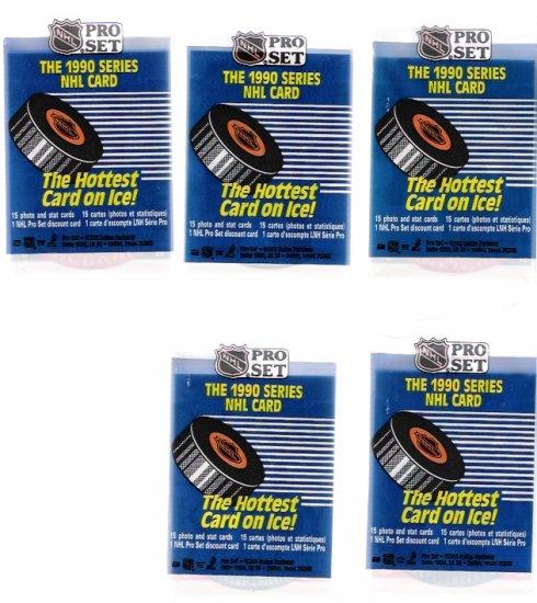 1990 Pro Set NHL Unopened Hockey Card Packs