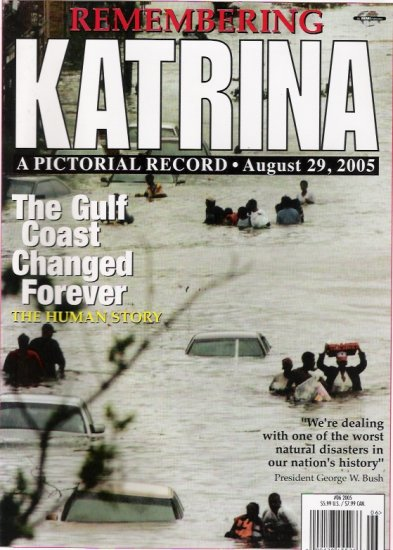 Hurricane Katrinia 2005 Color Magazine Special