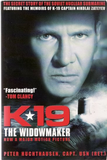 K-19 The Widowmaker Harrison Ford 2002 Movie Press Kit
