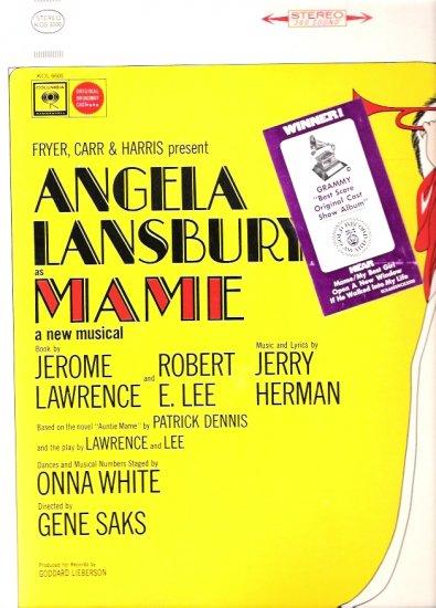 Mame Original Broadway Musical Cast LP Album
