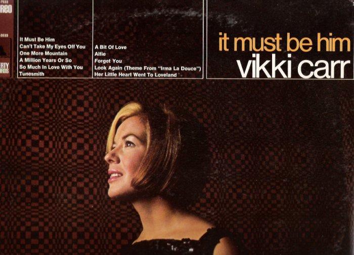 Vikki Carr It Must Be Him LP Album