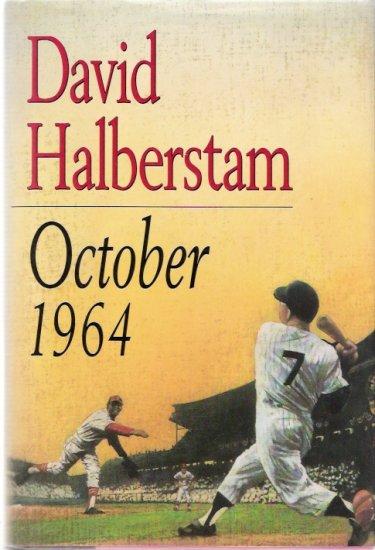 October 1964 New York Yankees vs. St. Louis Cardinals Book By David Halberstam
