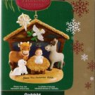 Carlton Cards 2006 Godchild Nativity Scene #32 Christmas Ornament Mint in Box