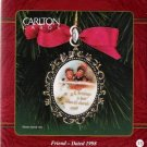 Carlton Cards Victorian Brooch Friend 1998 #15 Christmas Ornament Mint in Box