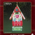 Carlton Cards New Home Dated 2000 #11 Christmas Ornament Mint in Box