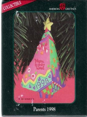 American Greetings Parents 1998 Christmas Ornament Mint in Box