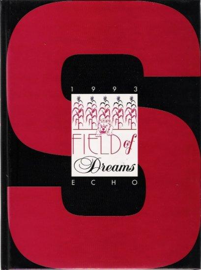 Staunton Illinois 1993 Original High School Yearbook The Echo Field of Dreams New