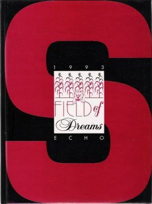 Staunton Illinois 1993 Original High School Yearbook The Echo Field of Dreams New