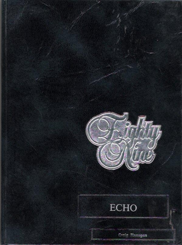 Staunton Illinois High School 1989 Echo Yearbook Like New