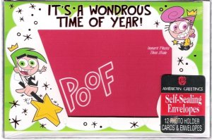 American Greetings 2008 Fairly Odd Parents Photo Collectible Christmas Cards Mint in Box