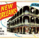 Vintage 1960s New Orleans Souvenir Album Prints Booklet Pat O'Briens Antoines Restaurant