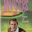 The Invaders Dam of Death 1967 Whitman Authorized TV Book #1545
