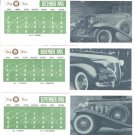 Cadillac 1995 Sixty Year Annivesary Card Set