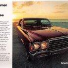 Summer 1972 American Motors Ambassador 12-Page Car Advertising Vintage Automobile Booklet