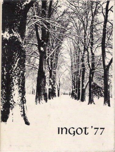 1977 Granite City Illinois North High School The Ingot Yearbook