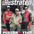 NASCAR Illustrated Dec. 2003 Bill France Jr. & Jeff Gordon Cover Still Sealed in Bag