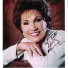 Jan Howard Vintage Country Music Autographed Grand Ole Opry Color Photo