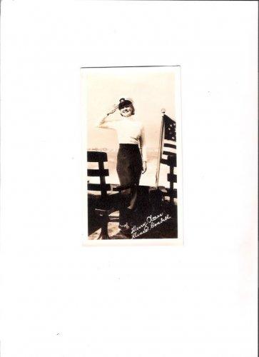 Original Minna Gombell Vintage Hollywood 1938 Merry Xmas Card from San Diego