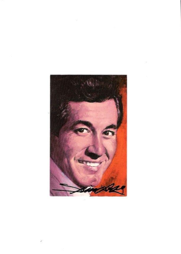 Trini Lopez Singer Dirty Dozen Actor 1960s Autographed Postcard & Press Release