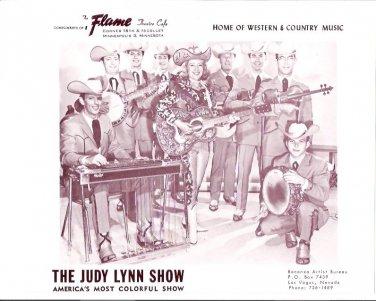 Original Judy Lynn Show 1960s Flame Theatre Minneapolis Country Music Photo