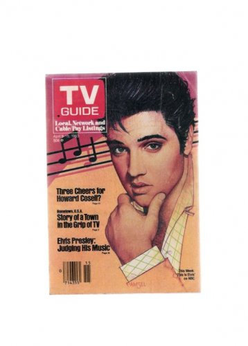 TV Guide April 9 1983 Elvis Presley Cover St. Louis Newsstand Edition