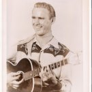 Bob Shaffer 1950 WKNX Saginaw Michigan Original Country Music Radio Photo