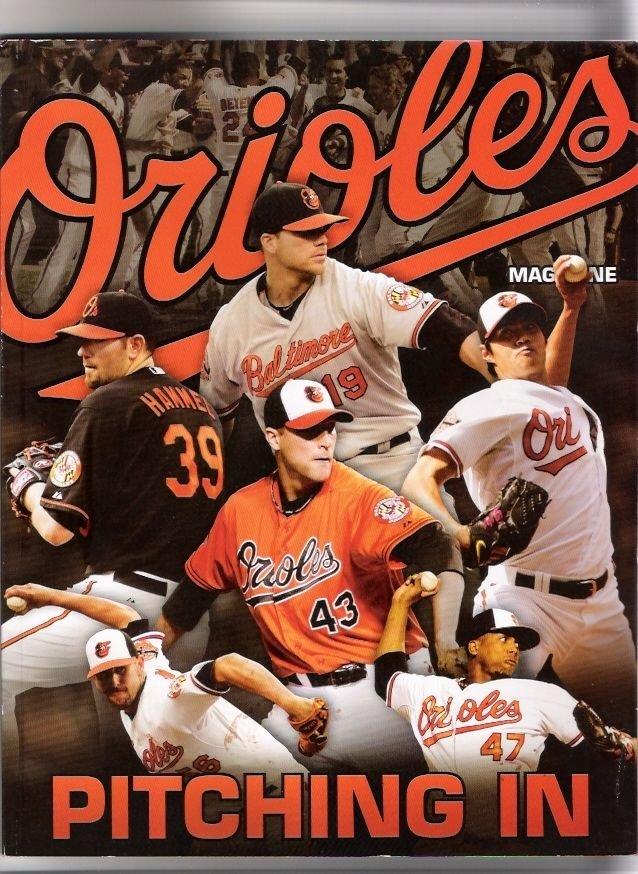 Baltimore Orioles 2012 Pitching In Team Magazine Jason