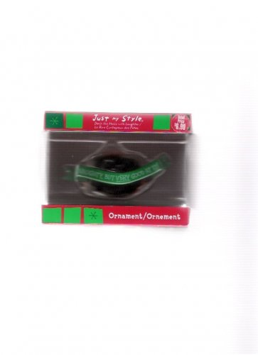 American Greetings Lump of Coal Naughty Christmas Ornament Mint in Box