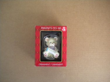 American Greetings Parents To Be 2005 Teddy Bear Christmas Ornament Mint in Box