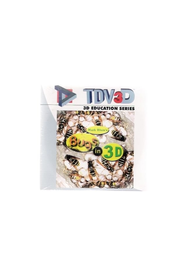 Mark Blum's Bugs in 3D TDV3D 2002 Vintage CD-Rom Brand New