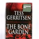 The Bone Garden Tess Gerritsen Autographed Special Doubleday Large Print HC Edition