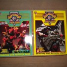 Superhuman Samurai Syber-Squad Manufacturer Case 72 Coloring Activity Books 1994