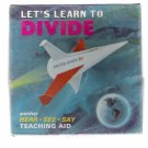 Vintage 1960s Lets Learn To Divide Teaching Aid 3-Record Box Set US Space Theme